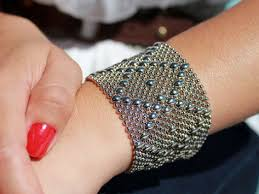 bracelet mesh images Mesh cuff bracelet by liquid metal the grommet jpg