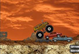 monster truck demolisher free games kids shooting