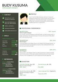 How To Develop A Resume Resume Template 7 Creative Online Cv For Web Graphic Designer
