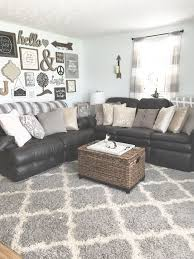 rustic living room furniture ideas with brown leather sofa best trends for rustic chic living rooms rustic farmhouse brown