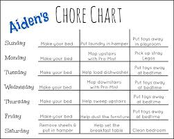Chore Sheet Template The 25 Best Chore Chart Template Ideas On Room