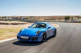 blue porsche 911 2017 porsche 911 carrera 4 gts review gtspirit