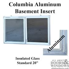 how to replace basement window inserts