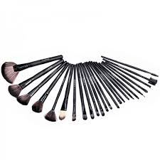 24 piece mac makeup brush set with leather pouch mbs 24 in affordable with free cash on delivery service in stan
