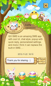 sms popup apk go sms pro easter pop thx apk from moboplay