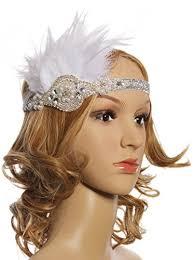 flapper headband vijiv black beaded flapper headband inspired great gatsby 1920s