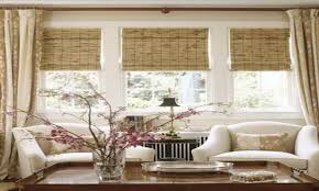 living room bay window small window treatment ideas cottage small