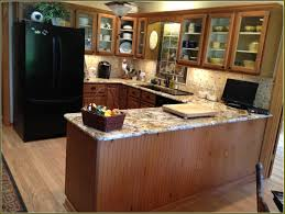 Kitchen Cabinet Finishes Ideas Closeup Of Herra Laminate Kitchen Cabinets In Elk Finish Kitchen