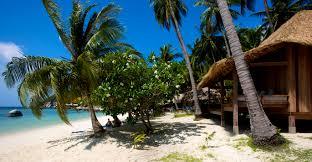 los bungalows de haadtien beach resort en la isla de koh tao son