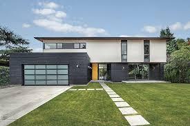 basic house simple geometry shines in modern seattle home freshome com
