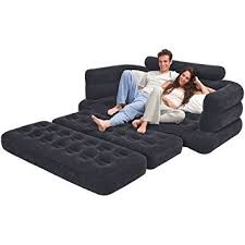 Amazon Sleeper Sofa Amazon Com Intex Sectional Sleeper Sofa Futon Living Room