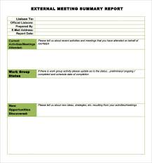 conference report template how to write a post conference report professional and high