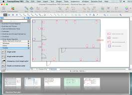 electrical and telecom plan software create electrical circuit