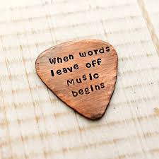 music begins pick keychain musician christmas gifts woobie beans