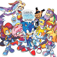 archie comics u0027 sonic hedgehog freedom fighters characters
