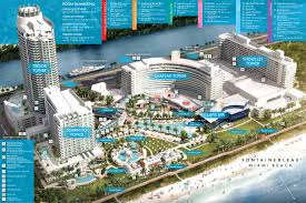 Map Of Miami Beach Hotels by Property Map By Fontainebleau Miami Beach Issuu