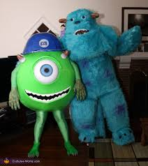 sully costume mike and sully costumes