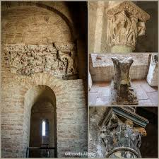 Romanesque Interior Design Romanesque Sculpture And Frescos Inside The Basilica Of St Sernin