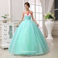 aqua blue quinceanera dresses florals aqua blue tulle strapless sweetheart generous quinceanera