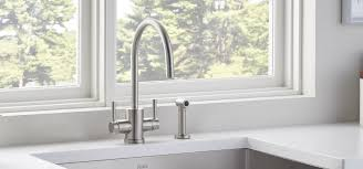 rohl integrated kitchen faucet with swiss water filter perrin