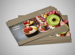 Catering Calling Card Design Pastry Catering Business Card Template Mycreativeshop