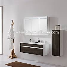 eco friendly waterproof customized mdf bathroom vanity customized