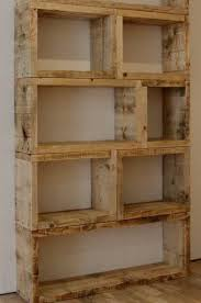 Building Wood Bookcase by Use Old Wood Pallets Or 2x6 For The Home Pinterest Wood