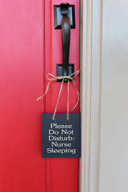 Do Not Disturb Desk Sign Please Do Not Disturb Nurse Sleeping Wood Sign To Hang On Your