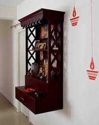 Wall Mounted Pooja Room Designs