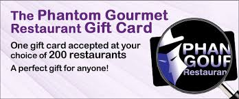 restaurant gift card find participating restaurants the phantom gourmet restaurant