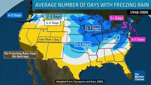 weather map of east coast usa winter inga brings snow to the south and east snarls