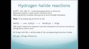 Group 7 Periodic Table Properties And Reactions Of Group 7 Elements And Compounds