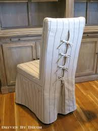 Dress Up Your Dining Chairs With Unique Slipcovers Driven By Decor - Dining room armchair slipcovers