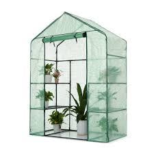 pet room dividers green ikayaa outdoor garden 3 layer mini walk in greenhouse
