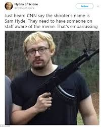 College Liberal Meme Identity - vicente gonzalez says texas shooter is 4chan meme sam hyde daily