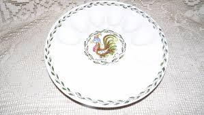 deviled egg platter vintage deviled egg platter vintage artmart creation handpainted rooster