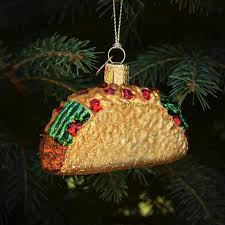 taco ornament by world outer layer