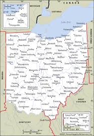 ohio map of cities ohio map cities my