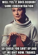 Knitting Meme - audrey hepburn knitting caption meme generator to amuse me