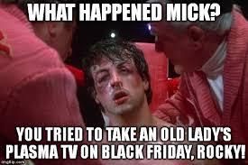 tv on black friday rocky imgflip