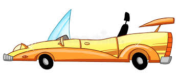 cartoon convertible car cartoon convertible car stock vector illustration of automobiles