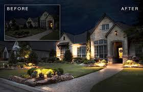 in ground led landscape lighting package giveaway fwtx com