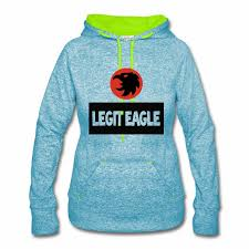 legit eagle women speckled hoodie hoodie legit eagle