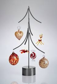 metal tree ornament display stand ornament trees spiral