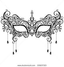 black and white masquerade mask masquerade mask stock images royalty free images vectors