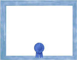 templates for award certificate printable 15 new blue border certificate templates blank certificates