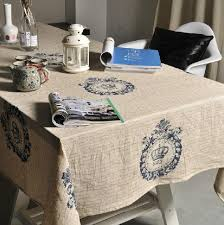 aliexpress com buy modern linen tablecloth dinner table cover