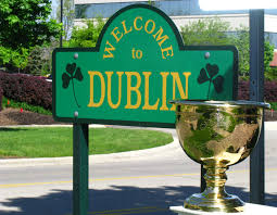 Dublin Ohio Map by Home