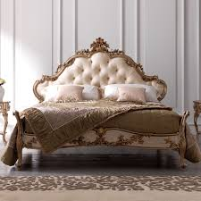 Rococo Bed Frame Luxury Ornate Carved Rococo Bed Juliettes Interiors