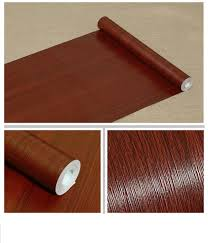 faux wood grain contact paper self adhesive vinyl shelf liner